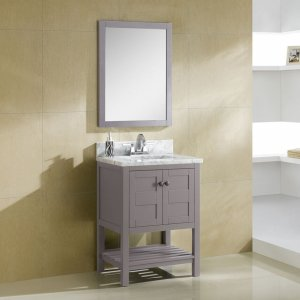 "24"" Grey Bathroom Vanity"