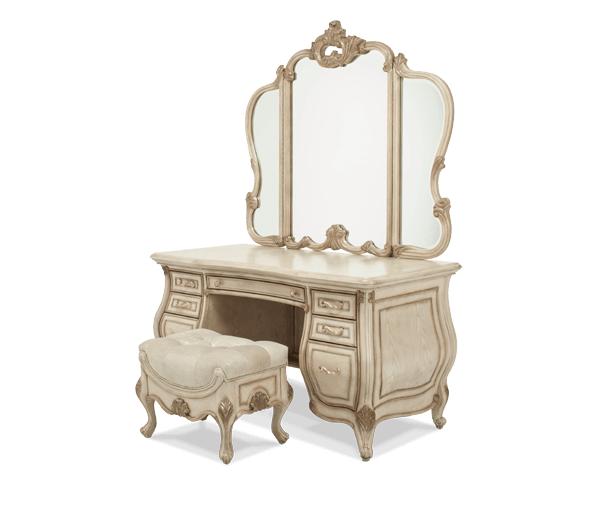 Platine De Royale Bedroom Set Antique Recreations