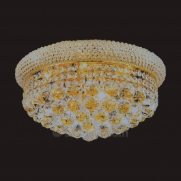 "16"" x 8"" Flush Mount Chandelier"