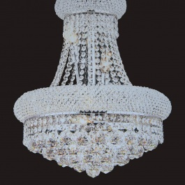 "16"" x 20"" Crystal Chandelier"