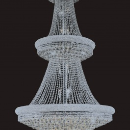 "42"" x 72"" Crystal Chandelier"