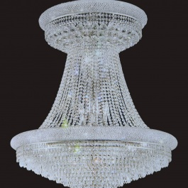 "24"" x 28"" Crystal Chandelier"