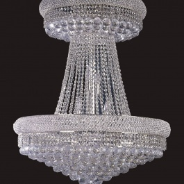 "32"" x 38"" Crystal Chandelier"