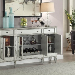 Mirrored Storage Cabinet