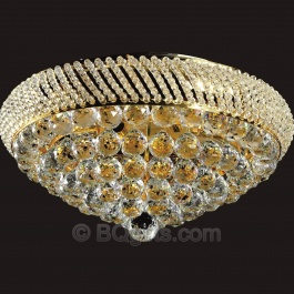 "24"" Flush Mount Chandelier"