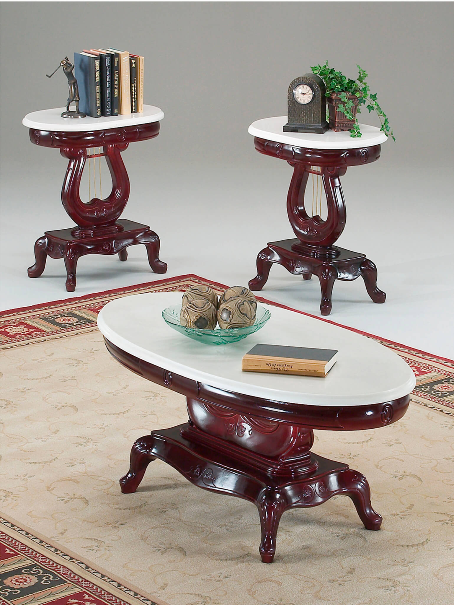 Victorian Coffee Table Set