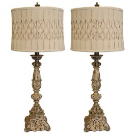 Pleated Lamps - Set of 2