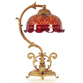 Ruby French Lamp
