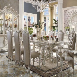 Dining Room Set- Versailles Bone White