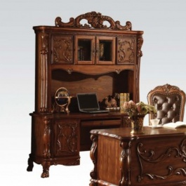 Cherry Desk and Hutch - A12169