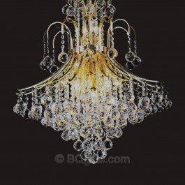 "25"" x 31"" Crystal Chandelier"