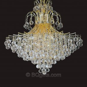 "31"" x 35"" Crystal Chandelier"
