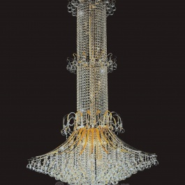 "44"" x 72"" Crystal Chandelier"