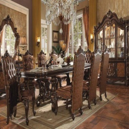 Dining Room Set- Versailles Cherry Oak