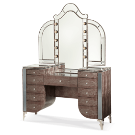 Makeup Vanity and Mirror