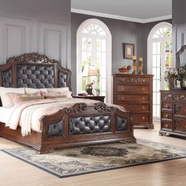 Claudia 6 Pc Bedroom Set
