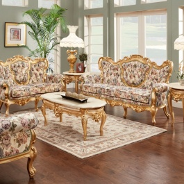 French 3 pc. Living Room Set