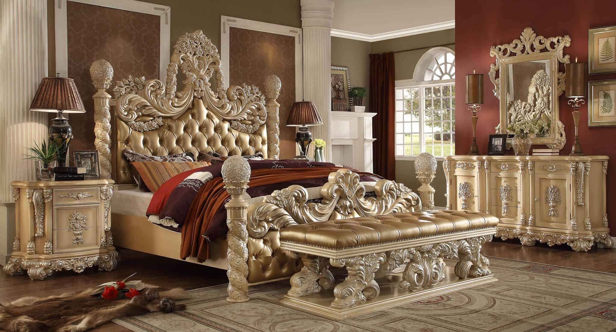 Bedroom Set HD7266 - Antique ReCreations