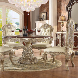 98017 Round Dining Room Set