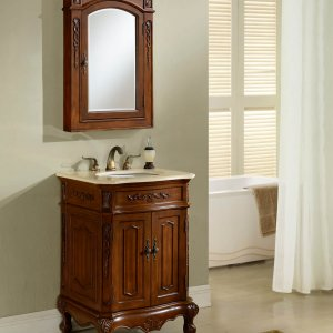 "24"" Kensington Teak Bathroom Vanity"