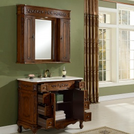 "42"" Kensington Teak Bathroom Vanity"