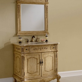 "36"" Kensington Tan Bathroom Vanity"