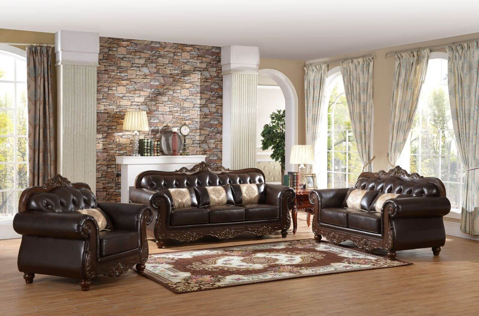 Mabel 3 Pc Living Room Set