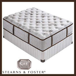 Sterns and Foster Twin Mattress Set