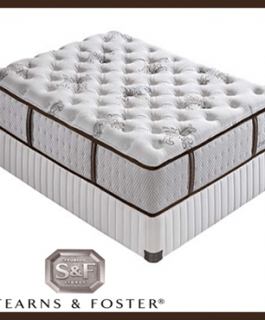 Sterns and Foster Full Mattress Set