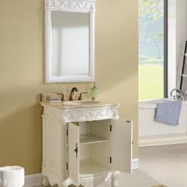 "27"" Tuscany Tan Bathroom Vanity"