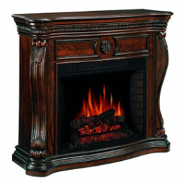 Cherry Electric Fireplace