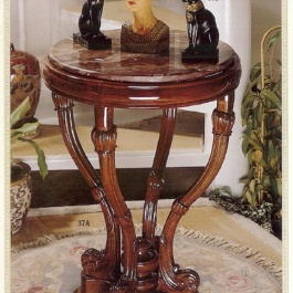 Round Marble-Top Table M101