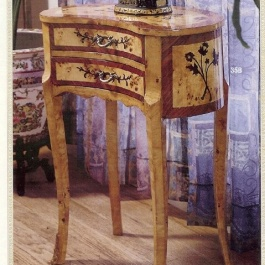 Kidney Shape Side Table M104