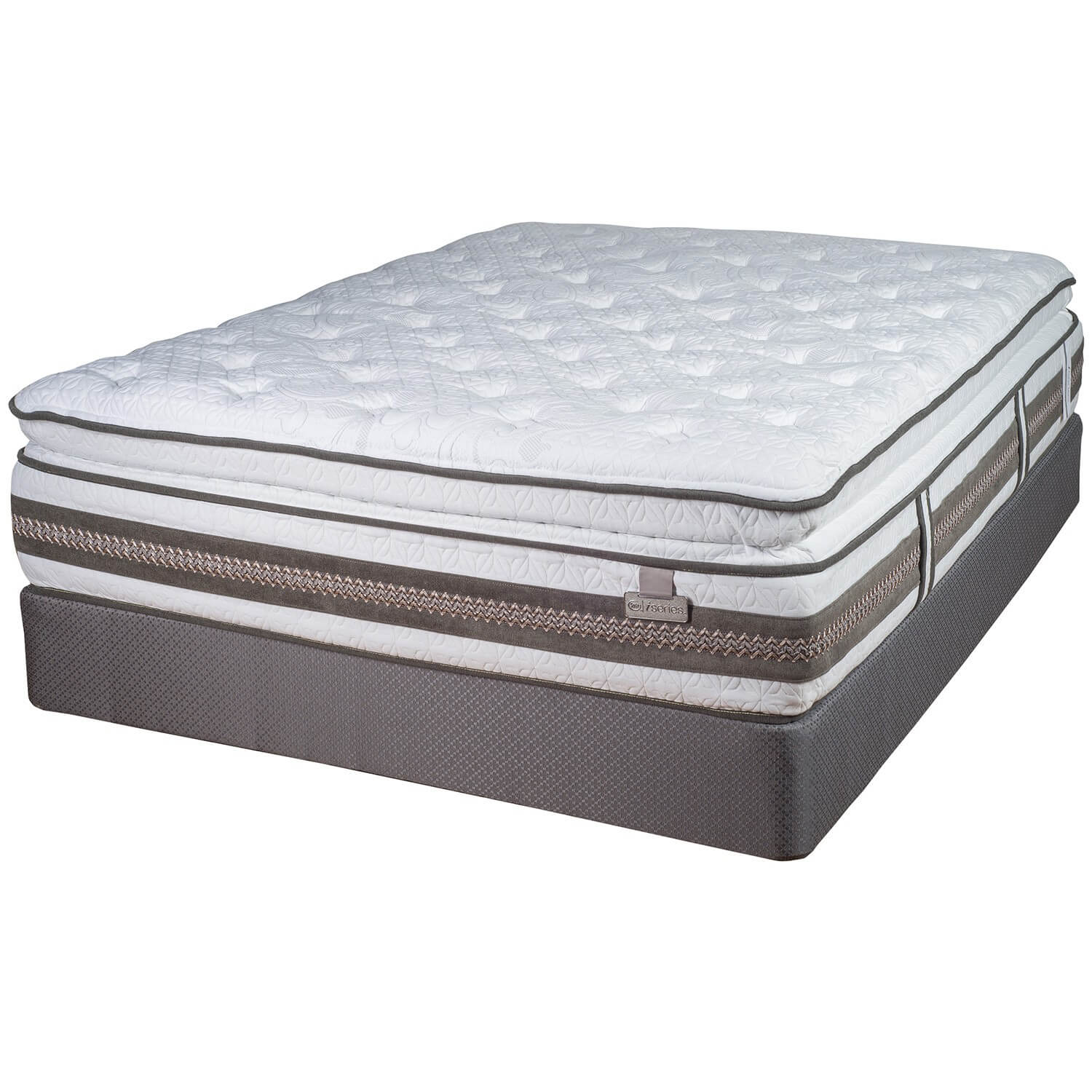 Serta I Series King Mattress Set Antique Recreations