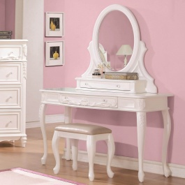 Makeup Vanity Desk & Mirror