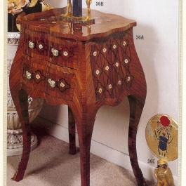 Inlaid Side Table M110